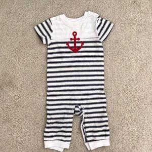 Baby boy Nautical Romper
